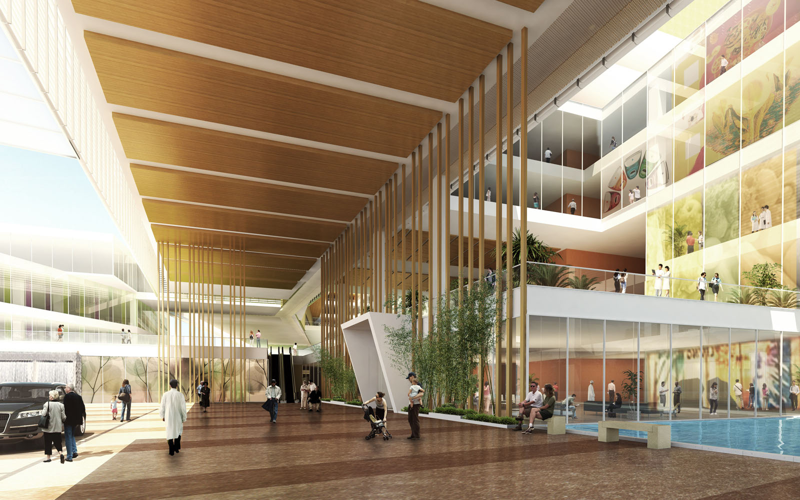 Seng kang general hospital saa architects singapore for Lloyds architecture planning interiors